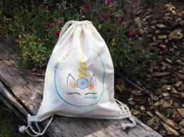 bolsa regalo unicornio