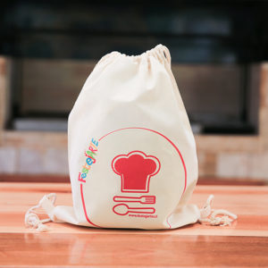 bolsa regalo mini chef