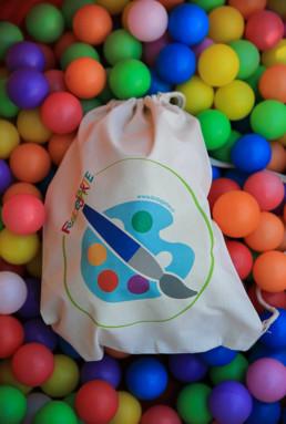 bolsa regalo peque artista
